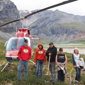 Logistics - Nahanni Heli Hiking, Biking & Camping Adventures | Northwest Territories, Canada North